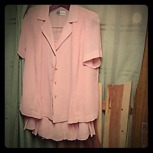 Other - Skirtand blouse.